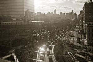 Evening Rush 2 - 59th Bridge by Tomoji-ized