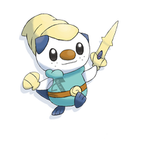 Oshawott the Hero by Shutwig