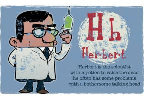 H is for Herbert by Ape74