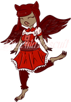 Red ..::Adoptable::.. by draculabiscuit