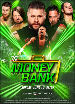 WWE Money in the Bank 2017 - Custom Poster by DGLProductions