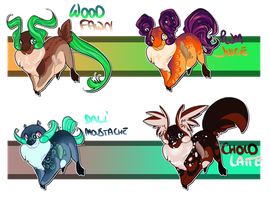 Platymus Adoptables - OPEN by Karijn-s-Basement