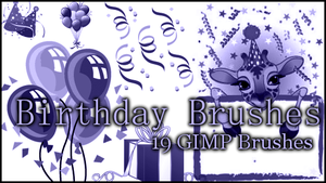 GIMP Birthday by Illyera