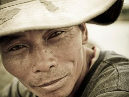 Rice Farmer by bjorntoday