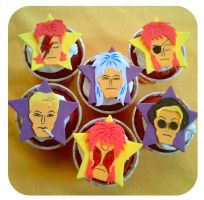 Bowie Cupcakes by sheilalala