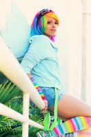 Rainbow Dash Cosplay: Just too Cool by Awesome-Vivi