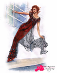 Rose's Jump dress | Titanic by FashionARTventures