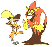 wander and lord hater (for duskofgold) by Cup-o-Hannibal