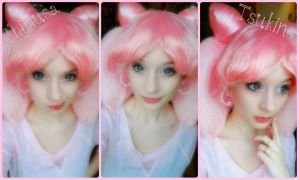 Chibiusa Faces! by Hamm-Sammich