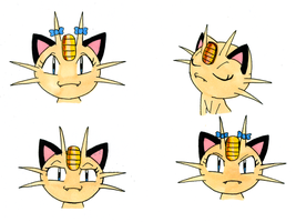 Meowzy Expressions by Meowthfan