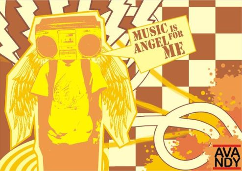 Music Is Angel For Me by apandi