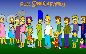 Full Simpson family by TomSimpson96