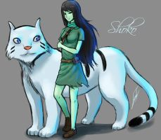 doodle: Shoko - Adventure Time by Luran-V