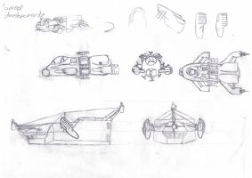 U.S. space sketches 1 by QTroubadour