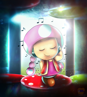Mushroom Music by HG-The-Hamster