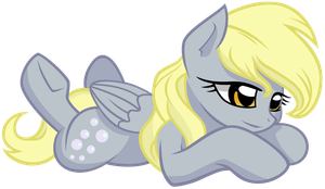 Derpy Lying by Scourge707