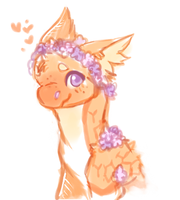 Flowercrown Honey scribble by dexikon