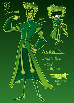 Serpentine by MeowTownPolice