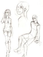 People Sketches by ember-snow