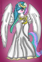 Princess Zelestia   Digital   By Myroo26 by BiaApplePie