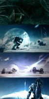 Halo 3 Wall Pack by Snohawk