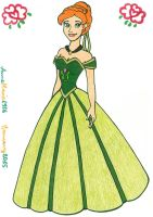 Princess Anna Of Arendelle by AnneMarie1986