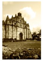 The Old Paoay Church by ellabanana