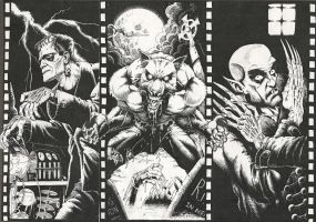Classic Monsters by chris-stockton