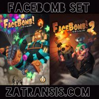 FaceBomb 1 and 2 on Sale! by Zatransis