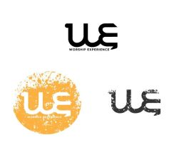 Logo Design WE by kendh