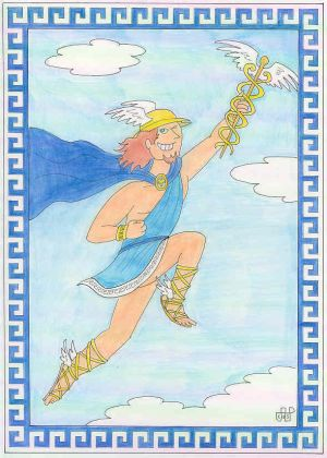 The 12 Olympians: Hermes