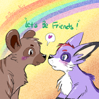+ Let's Be Friends + by pukukurin