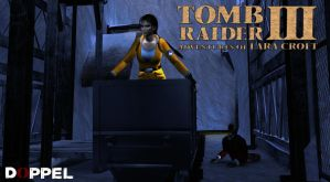 Tomb Raider 3: Antartica RX-tech mines by doppeL-zgz