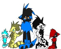 .: Family Photo :. by MistyTheCannibal