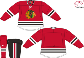 Chicago Blackhawks Road V2 by thepegasus1935