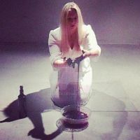 A Still from my Performance of Color Word by Marvea
