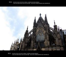 Cologne cathedral 1 by Mithgariel-stock
