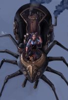 Spider Lady by slumberus