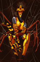 Black Arachnia by Ahrrr