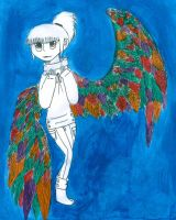 water color wings by DoxySocks