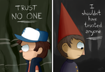 ''Trust'' - Gravity Falls and Over the Garden Wall by Koizumi-Marichan