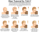 Pixel Hair Tutorial by teardrop246