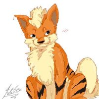 Orange doggeh doodle by RastaPickney-Juls