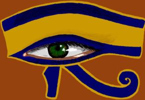 Eye of Horus by TheLittleCrow
