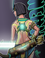 Divane Neith Fin by itzZombie