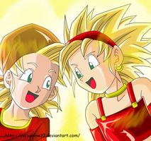 Pan y Bra ssj by Metamine10