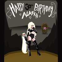 Happy Birthday Alaska by IoannisCleary
