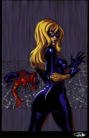 Spiderman and Blackcat CG by Jats