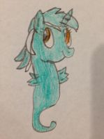 Lyra the Sea Pony by nintendolover2010