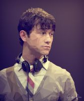 Low Poly of joseph gordon-levitt 500 days of summe by Fred-P